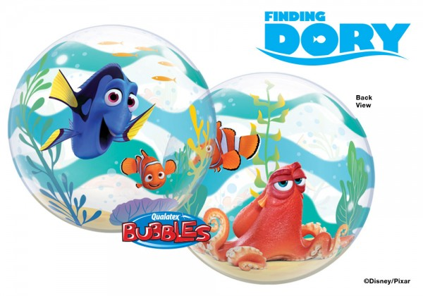 Qualatex Bubble Luftballons Finding Dory - 61cm