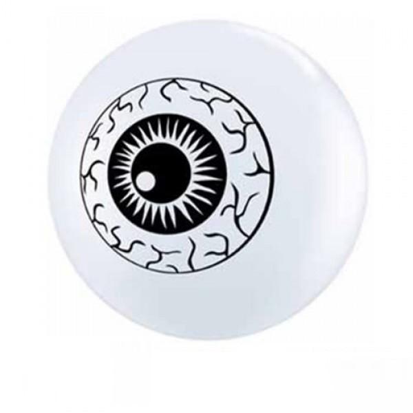"Auge (Eyeballs) 12,5cm 5"" Latex Luftballons Qualatex"