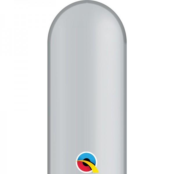 Qualatex 350Q Silver (Silber) Modellierballons