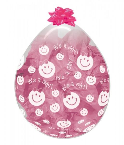 """Verpackungsballons It`s a Girl 45cm 18"""" Sempertex Stuffer"""
