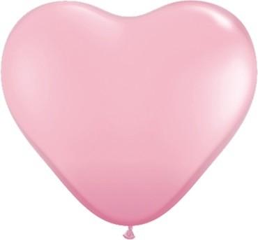 "Qualatex Herz Pink 27,5cm 11"" Ballon"