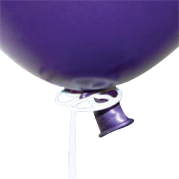 """Qualatex Luftballon Verschlussplättchen für 12,5cm 5"""" bis 30cm 12"""" Ballons"""
