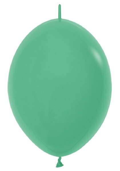 "Link o Loon 030 Fashion Green (Grün) 30cm 12"" Latex Luftballons Sempertex"