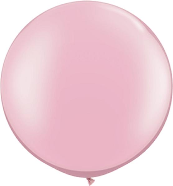 "Qualatex Pearl Pink (Rosa) 75cm 30"" Latex Luftballons"