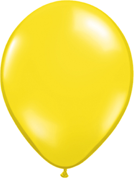 "Qualatex Jewel Citrine Yellow (Gelb) 40cm 16"" Latex Luftballons"