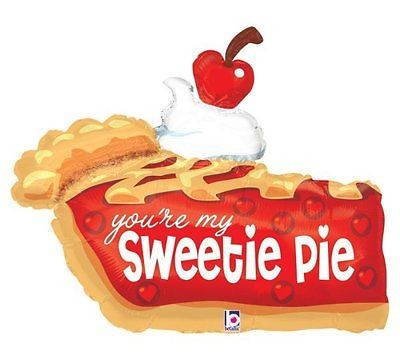 Sweetie Pie - Kuchenstück Folienballon