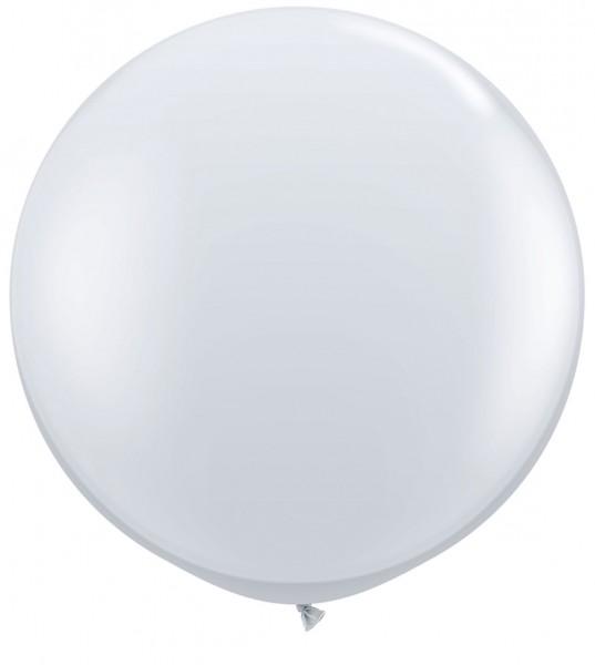 "Qualatex Jewel Diamond Clear 90cm 36"" Latex Riesenluftballons"