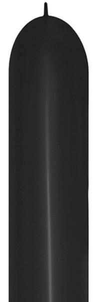 Link o Loon 660 Black 080 Latex Luftballon Sempertex