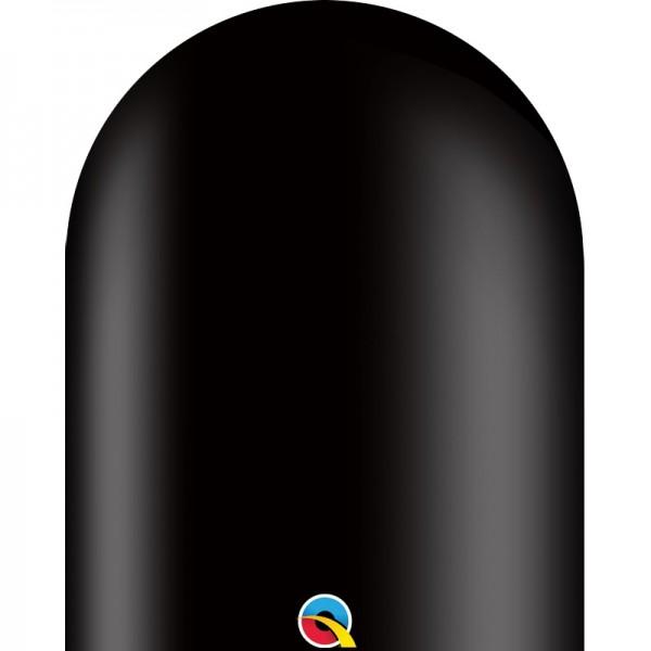 Qualatex 646Q Onyx Black (Schwarz) Modellierballons