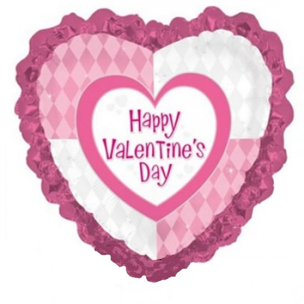 Valentinstag Herz Folienballon - ca 91cm