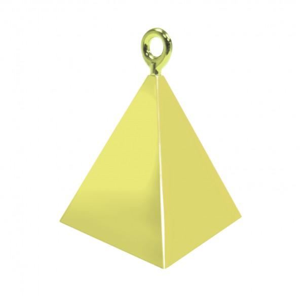 Gold Pyramiden Luftballon Gewicht
