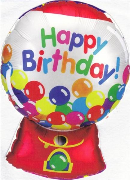 Kaugummiautomat Folienballon - 90cm