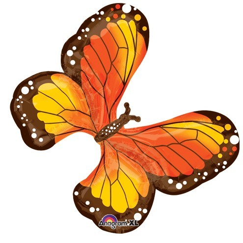 Beautiful Monarch Butterfly Folienballon - 79cm