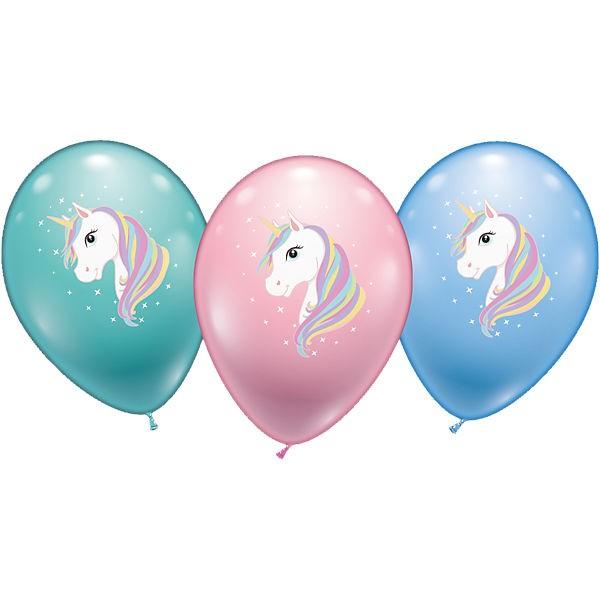 """Einhorn Unicorn 27,5cm 11"""" Latex Luftballons Karaloon"""