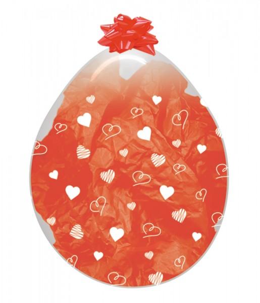 """Verpackungsballons Hearts Herzen 45cm 18"""" Sempertex Stuffer"""