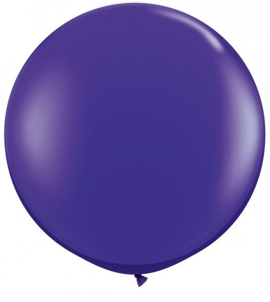 """Qualatex Jewel Quartz Purple (Lila) 90cm 36"""" Latex Riesenluftballons"""