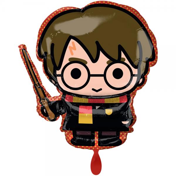 "Harry Potter mit Zauberstab Folienballon - 78cm 31"""