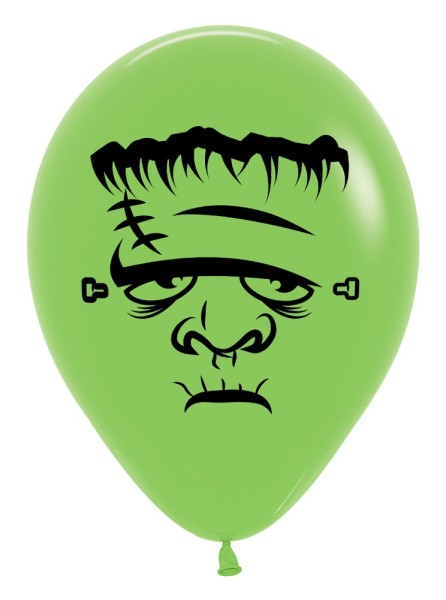 "Frankentstein 031 Fashion Lime Green 30cm 12"" Latex Luftballons Sempertex"