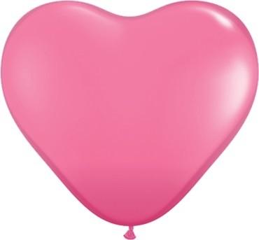 "Qualatex Herz Rose 27,5cm 11"" Latex Luftballons"
