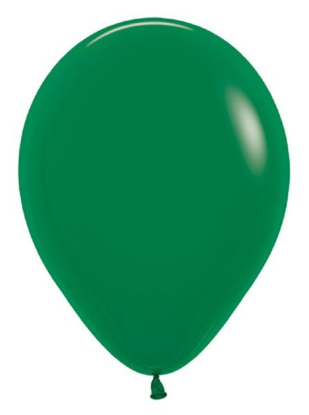 "Sempertex 032 Fashion Forest Green (Grün) 30cm 12"" Latex Luftballons"