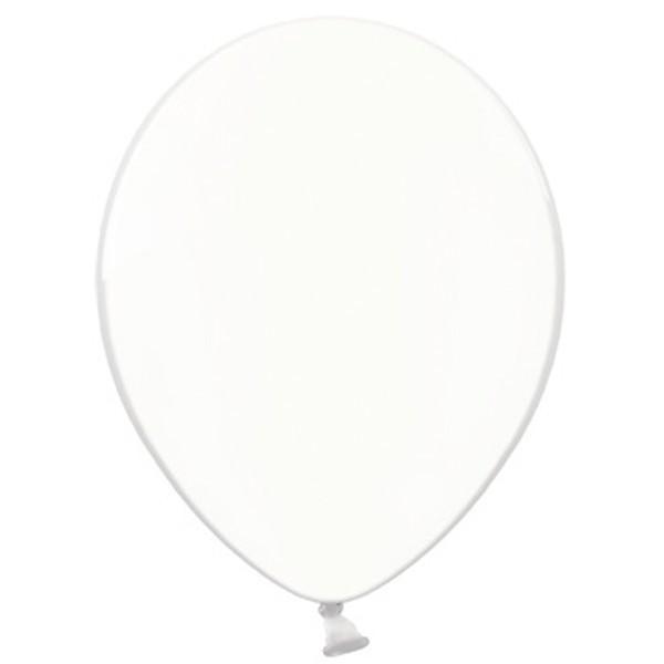 """Belbal Crystal Clear 038 100 St. 27,5cm 11"""" Latex Luftballons"""