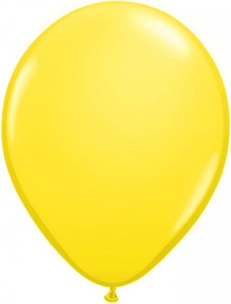 MiniLuftballons in Standard Gelb - 12,5cm