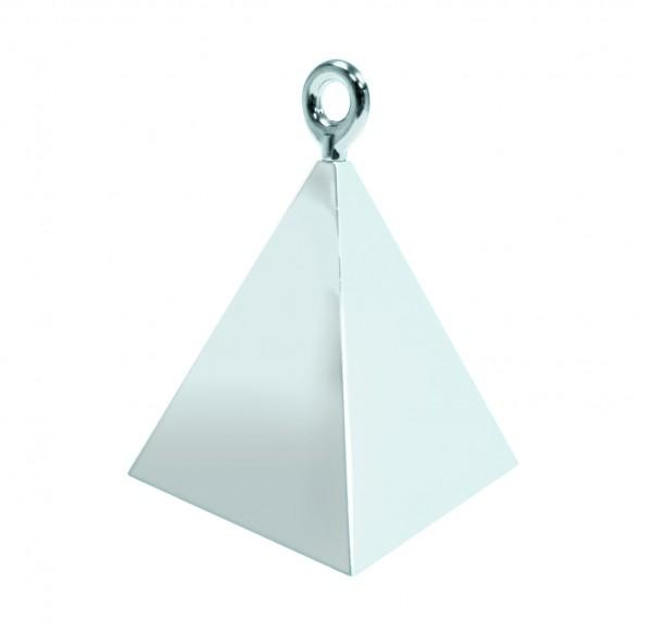 Silber Pyramiden Luftballon Gewicht