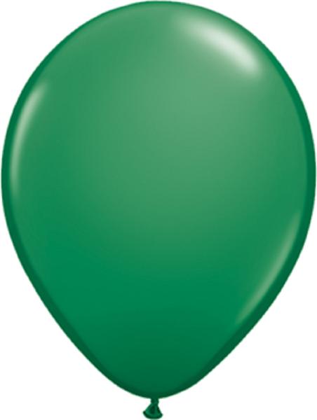 "Qualatex Standard Green (Grün) 40cm 16"" Latex Luftballons"