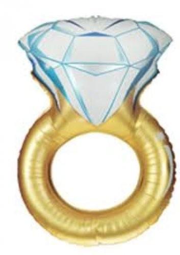 Diamand Hochzeits Ring - 94 cm
