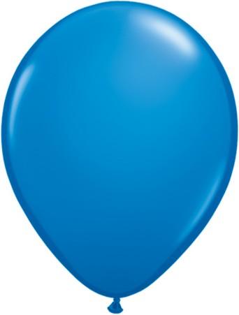 "Qualatex Standard Dark Blue (Blau) 27,5cm 11"" Latex Luftballons"