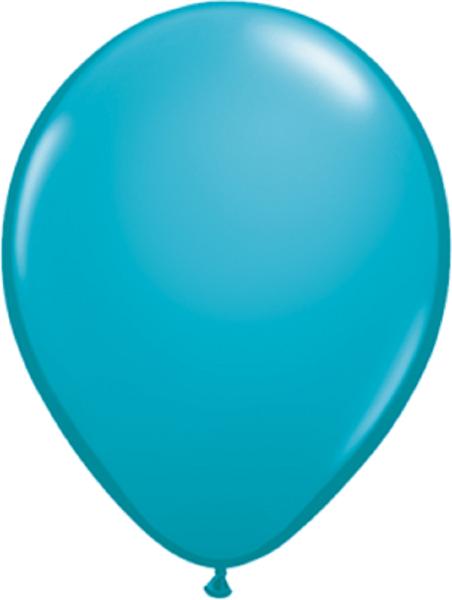 """Qualatex Fashion Tropical Teal 40cm 16"""" Latex Luftballons"""