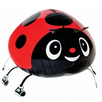 Marienkäfer Airwalker Folienballon