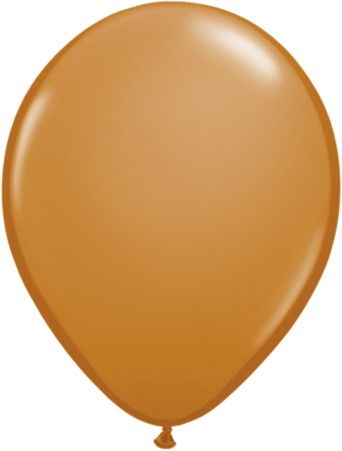 "Qualatex Fashion Mocha Brown (Braun) 12,5cm 5"" Latex Luftballons"
