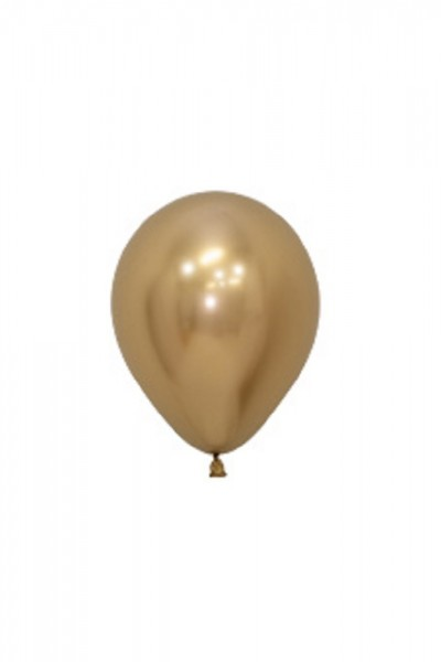 "Sempertex Reflex 970 Gold 12,5cm 5"" Latex Luftballons"