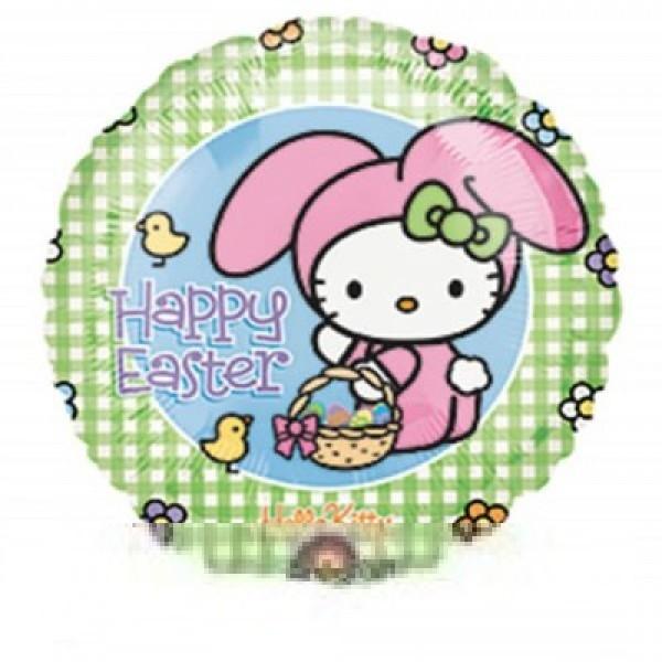 Hello Kitty Ostern Folienballon - 45cm