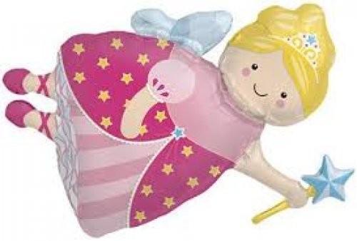 Mini Folienballon Fee Prinzessin - 35cm