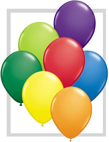 Latex Luftballons Assortment Carnival (bunt gemischt) 100St.