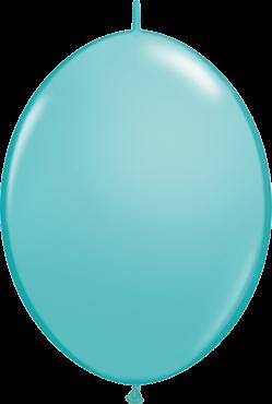 QuickLink Luftballons Caribbean Blue - 15cm