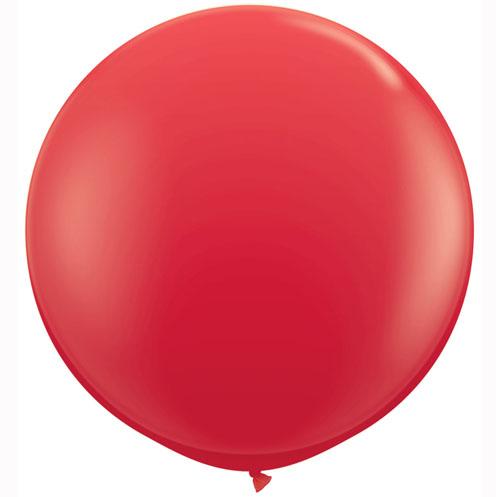 "Qualatex Standard Red (Rot) 90cm 36"" Latex Riesenluftballons"