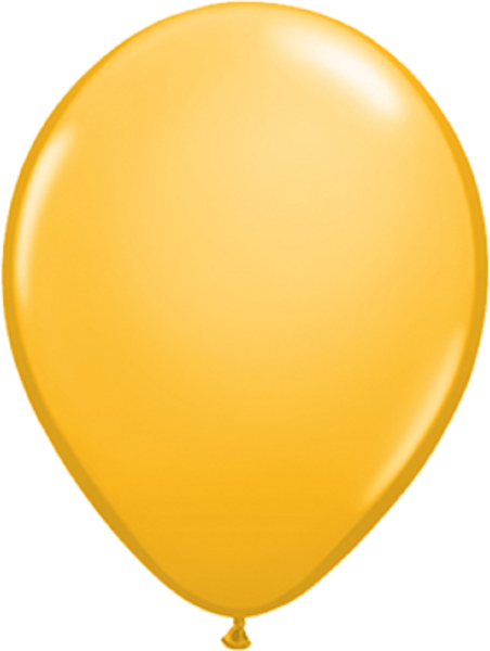 "Qualatex Fashion Goldenrod 40cm 16"" Latex Luftballons"