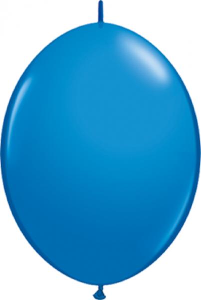 "QuickLink Standard Dark Blue (Blau) 15cm 6"" Latex Luftballons Qualatex"