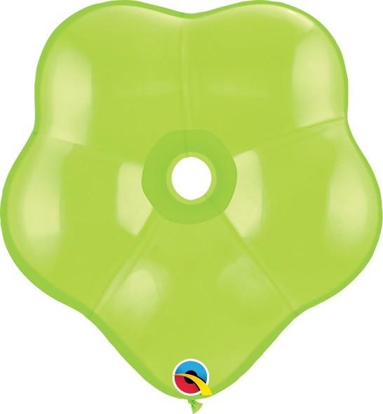 "GEO Blossom Fashion Lime Green (Grün) 15cm 6"" Qualatex Luftballons"