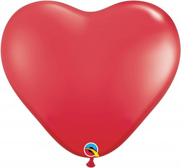 Riesenluftballon Herz Standard Red (Rot) 90cm