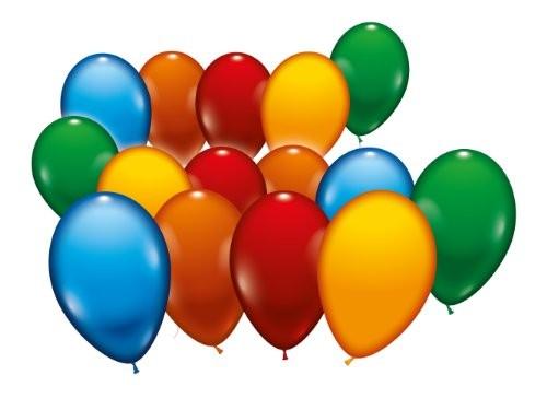 Ballons gemischt 18cm