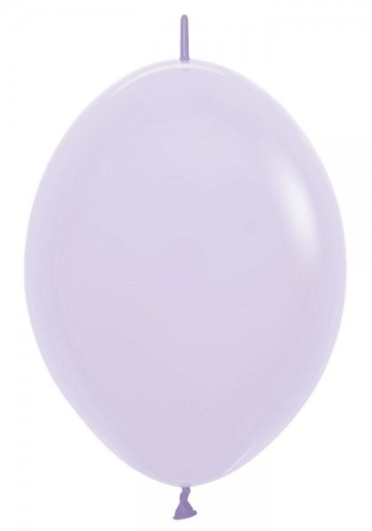 "Link o Loon 650 Pastel Matte Lilac (Lila) 30cm 12"" Latex Luftballons Sempertex"