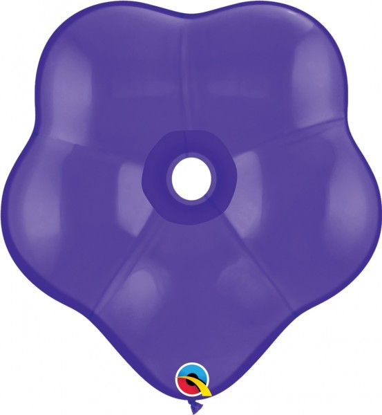 GEO Blossom Luftballons Fashion Purple Violet (Lila) - 41 cm