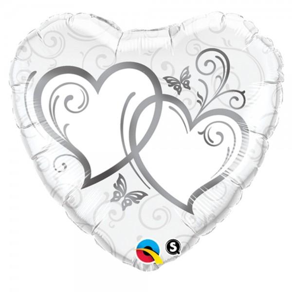 Herzen Hochzeit Folienballon | Luftballon Shop