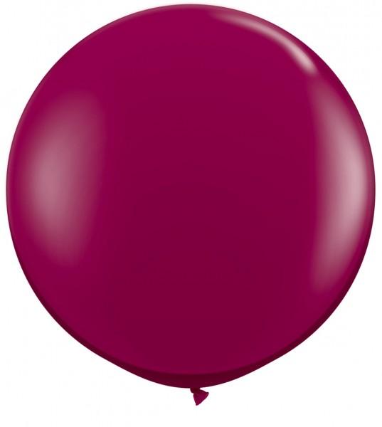 "Qualatex Jewel Sparkling Burgundy (Rot) 90cm 36"" Latex Riesenluftballons"