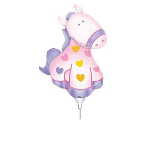 Mini Folienballon Soft Pony - 35cm