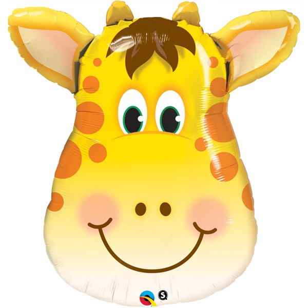 Giraffe Jolly Kopf Folienballon